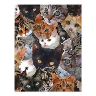 Kitty Collage Letterhead