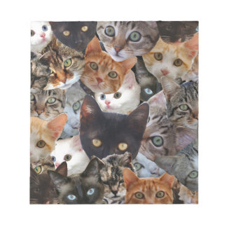 Kitty Collage Notepad