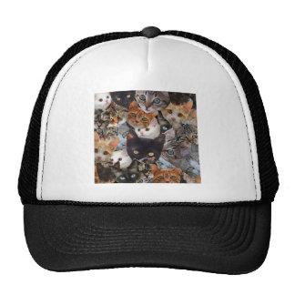 Kitty Collage Trucker Hat