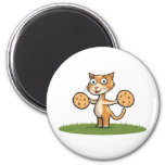 Kitty Cookies Magnet