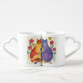 Kitty Couple Lovers Mug Couples' Coffee Mug Set