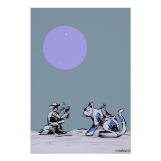 Kitty Cowboy Posters