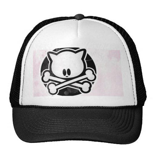 Kitty Crossbones Trucker Hat