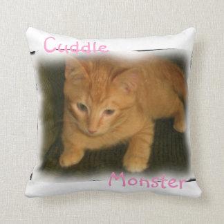 Kitty 'Cuddle Monster' Pillow