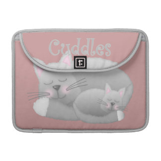 Kitty Cuddles Sleeve For MacBook Pro