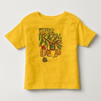 kitty does shaka shaka toddler t-shirt