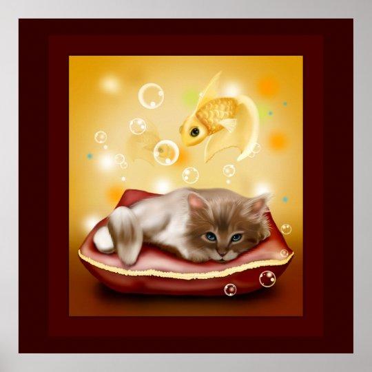 Kitty Dreams Poster