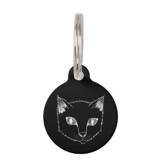 Kitty Face customizable pet tag