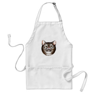 Kitty Face Look Of Wonder Apron