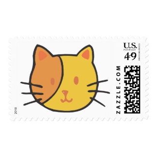 Kitty Face Postage