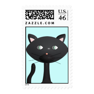 Kitty Face Stamp