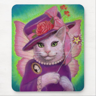 Kitty Fairy Godmother Mouse Pad