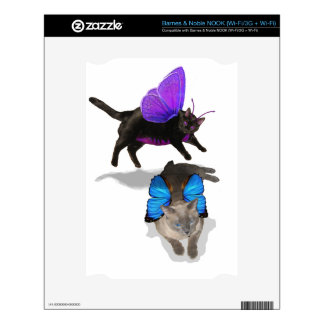 kitty fairy play time siamese nook decals