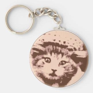 Kitty Gal Keychain