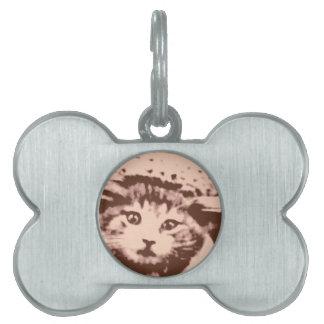 Kitty Gal Pet ID Tag