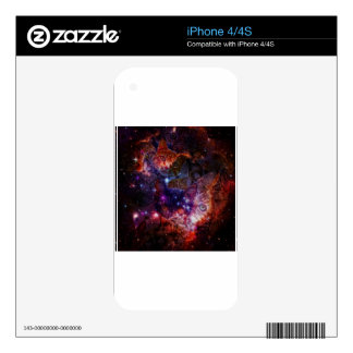 Kitty Galaxy Decals For iPhone 4