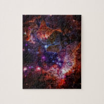 Kitty Galaxy Jigsaw Puzzle