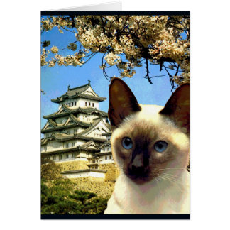 """Kitty Goes to Japan"" Card"