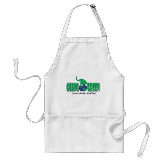 KITTY-GOING-GREEN ADULT APRON