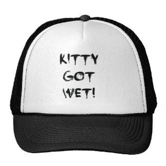 Kitty Got Wet! Trucker Hat