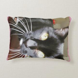 "Kitty Grade A Cotton Accent Pillow 16"" x 12"""