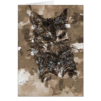 Kitty Greeting Cards