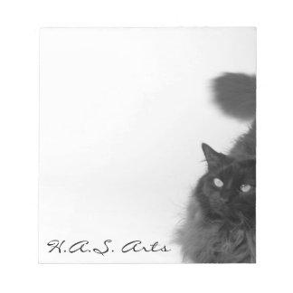 Kitty haiku notepad