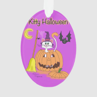 Kitty Halloween Ornament