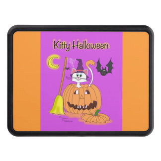 Kitty Halloween Trailer Hitch Cover
