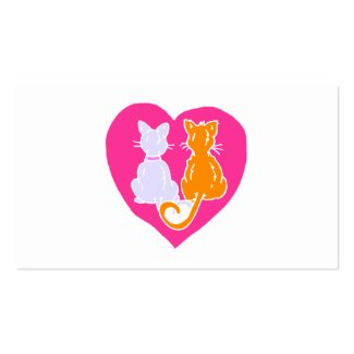 Kitty Hearts Business Card