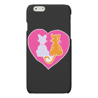 Kitty Hearts Matte iPhone 6 Case