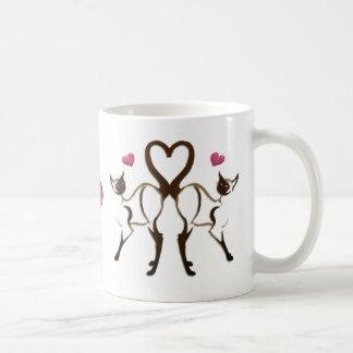 Kitty Hearts  Mug