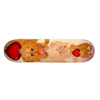 Kitty Hearts Skateboard
