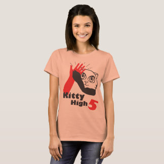 Kitty High Five Women T-Shirt