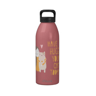 Kitty Hug Water Bottle