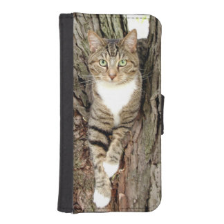 Kitty in a tree iPhone 5 wallets