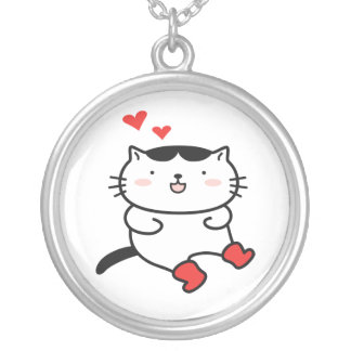 Kitty in Boots Necklace