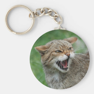 Kitty Is Not Amused keychain