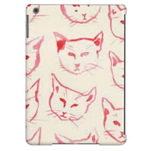 Kitty Kat Art iPad Air Case Barely There