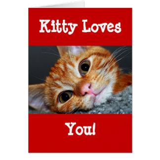 Kitty Kat Card