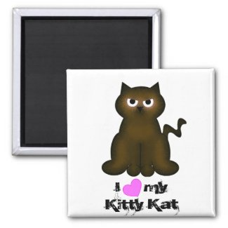 Kitty Kat Collection magnet
