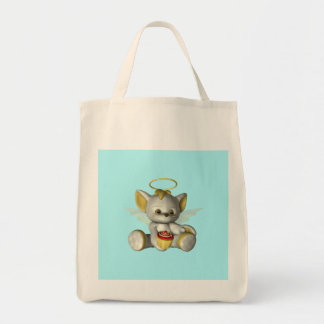 Kitty Kat Cupcake Tote Bag