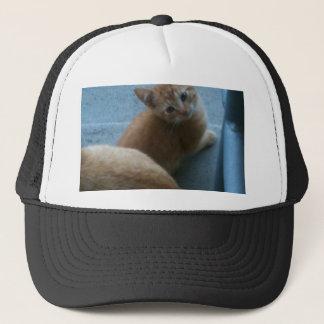 Kitty Kat iPhone 4 Case Trucker Hat