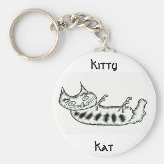 Kitty, Kat Keychain