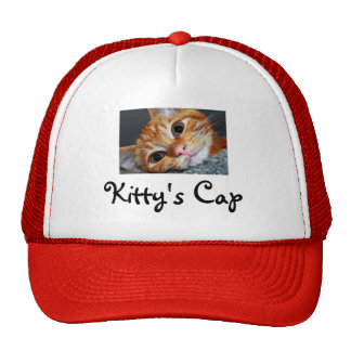 Kitty Kat Trucker Hat