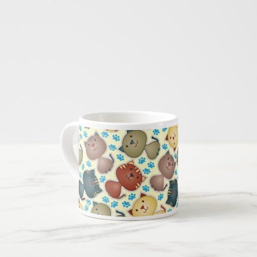 Kitty Kats Expresso Mug Espresso Cup