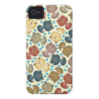 Kitty Kats  iPhone 4 Case