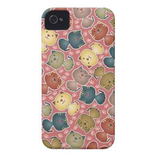 Kitty Kats Pink BlackBerry Bold Case