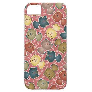 Kitty Kats Pink iPhone 5 Case