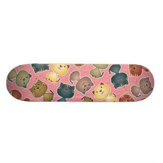 Kitty Kats Pink Skateboard